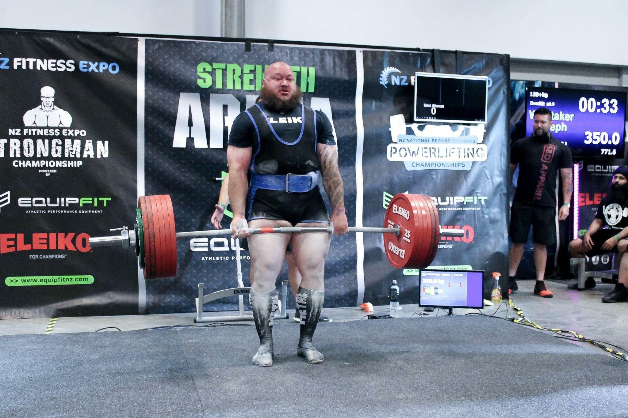 Powerlifting: Northlander Joseph Whittaker breaks NZ records