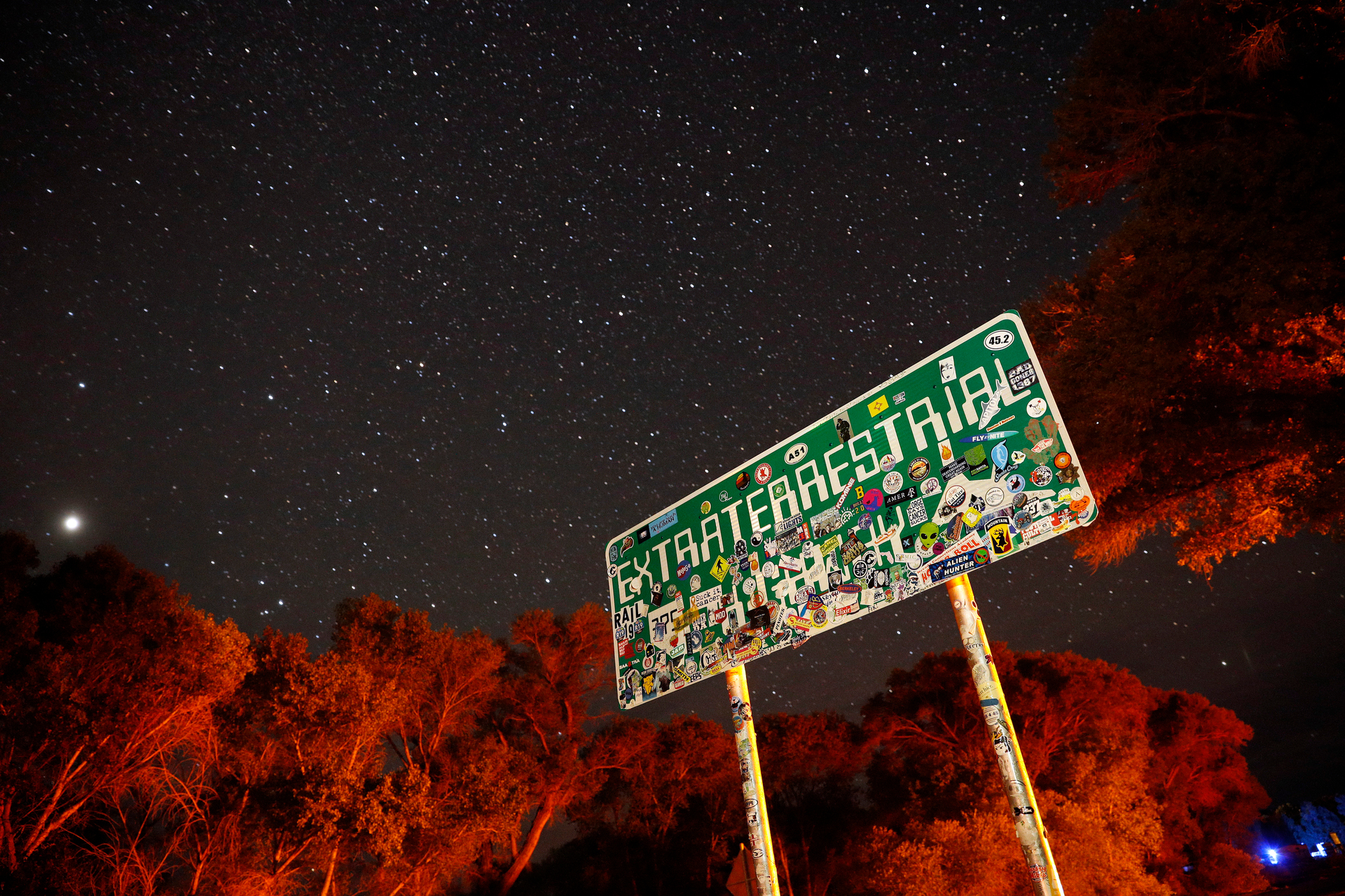 Storm area 51: Alien tourists prompt Nevada emergency crowd planning