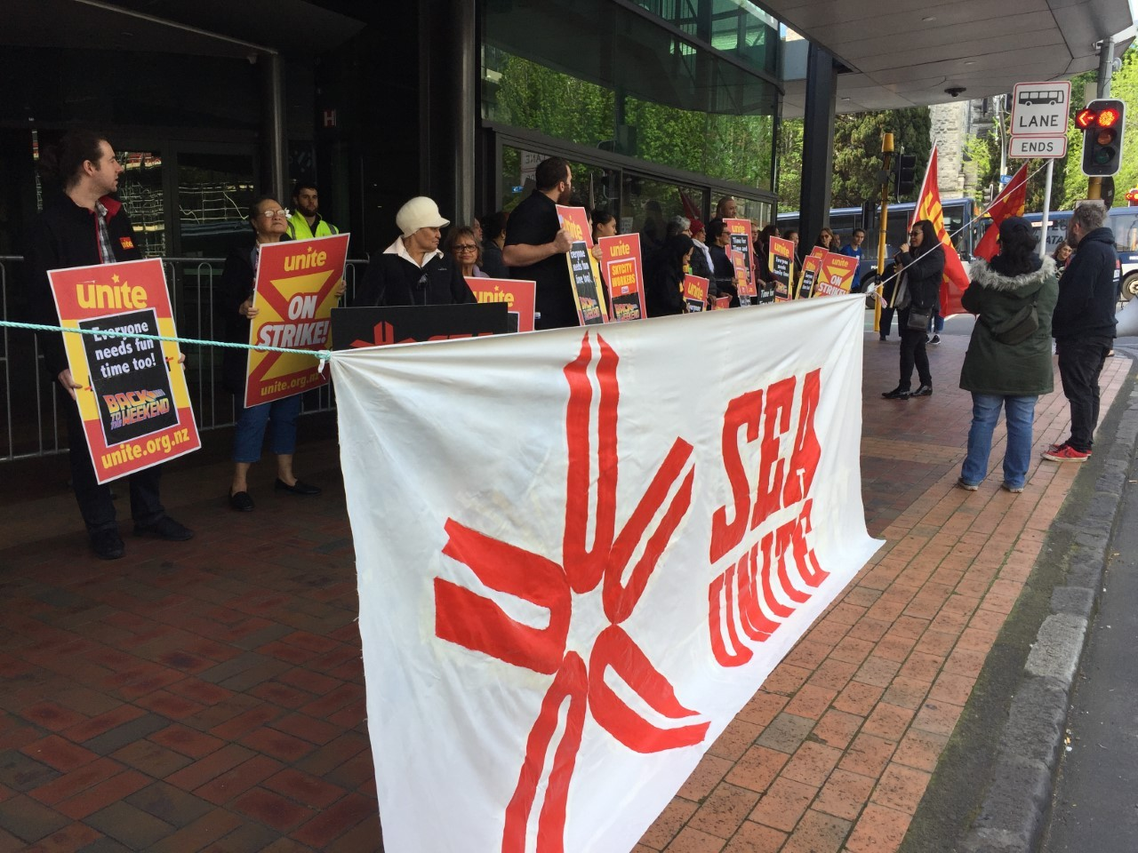 'We will fight you for ever and ever': SkyCity AGM met with protestors