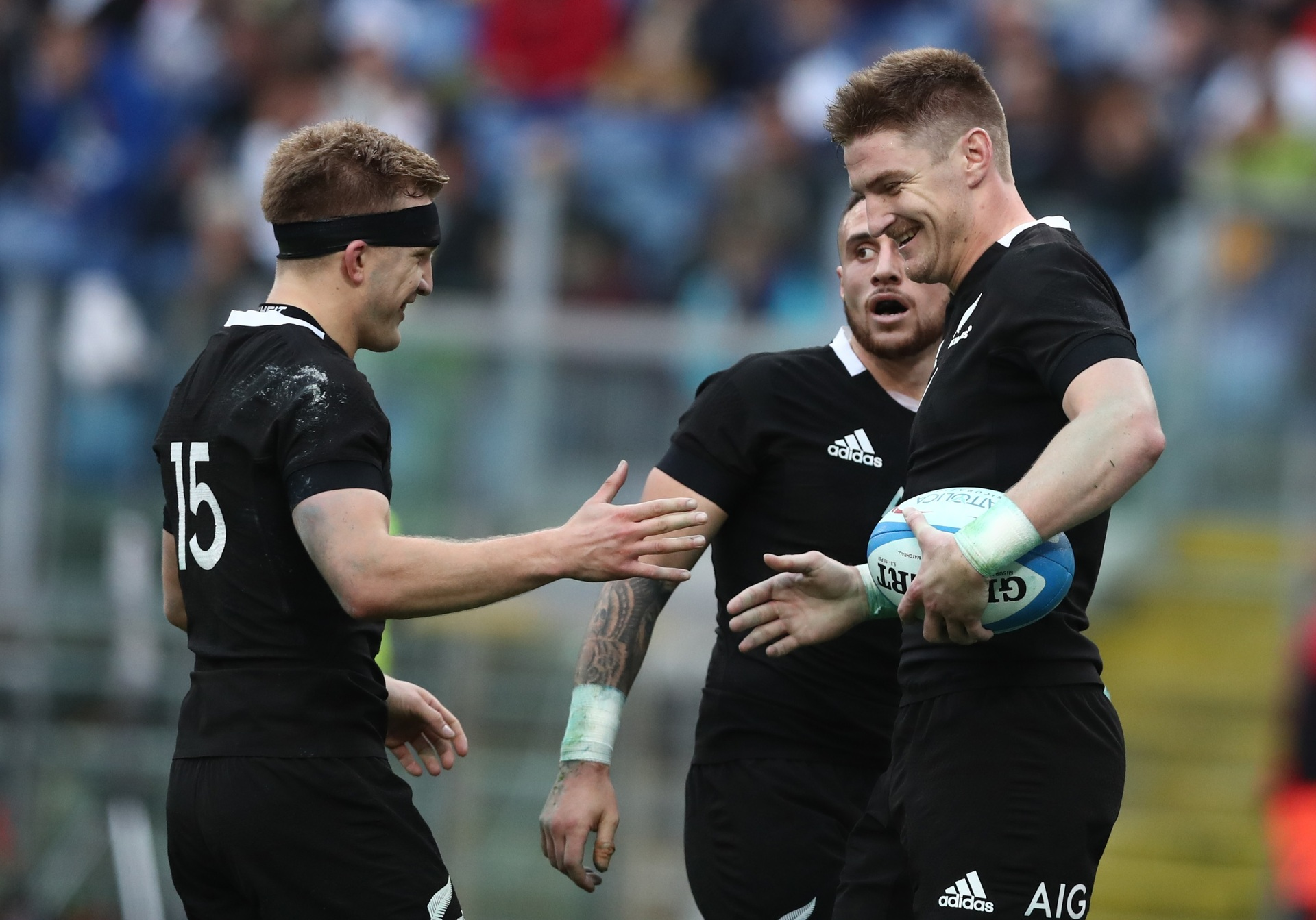 Rugby: World media reacts to the All Blacks' 66-3 win over Italy