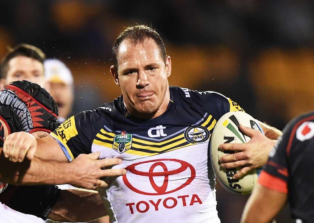 Rugby League: Cowboys great Matt Scott suffered stroke after game