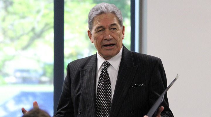 Peters starts election run-up with scattergun attack