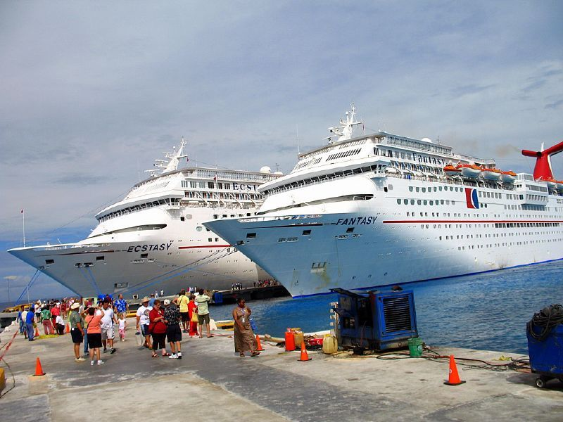 Cruise ship fails inspection as water runs brown and maggot laced bagels