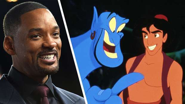 First Look At Will Smith As The Genie In Aladdin Nz Herald