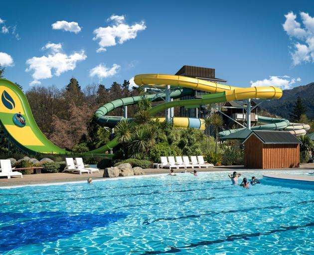 New Zealand's largest waterslide opens at Hanmer