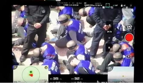 Chilling video of China crackdown