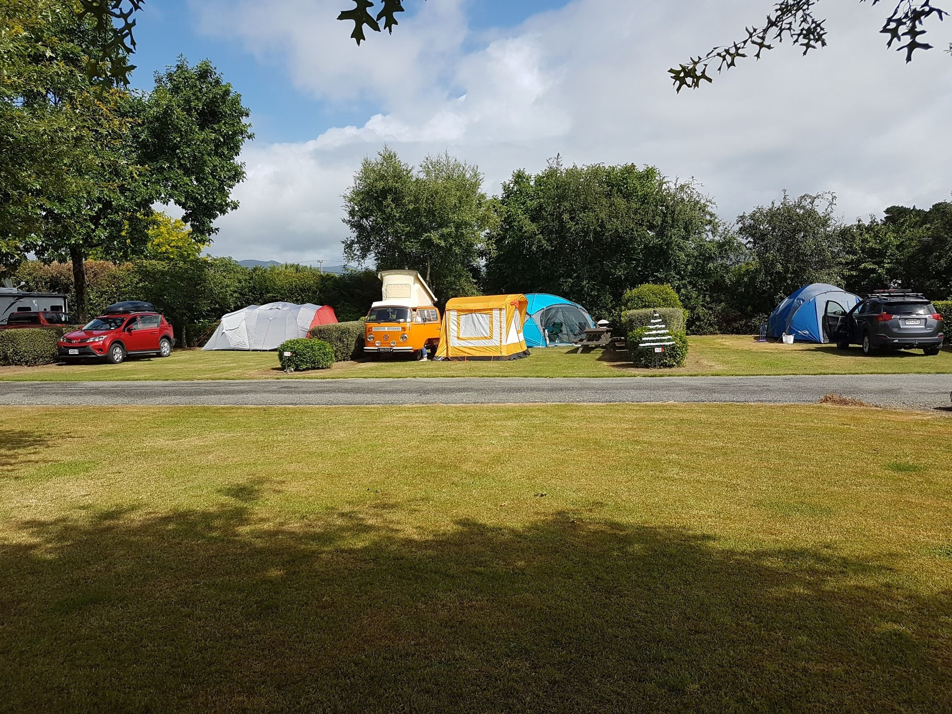 A charming and well kept holiday park