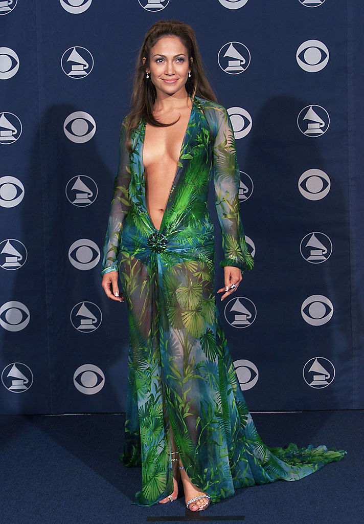 J Lo's iconic Versace dress gets unusual revival