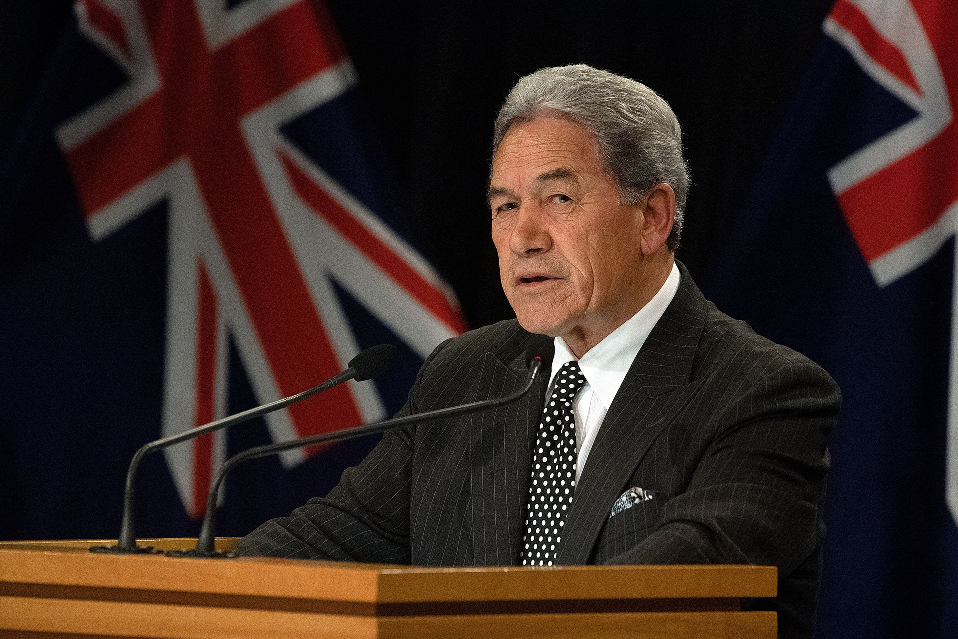 Foreign Minister Winston Peters will again travel to the US and is aiming to secure a trade deal