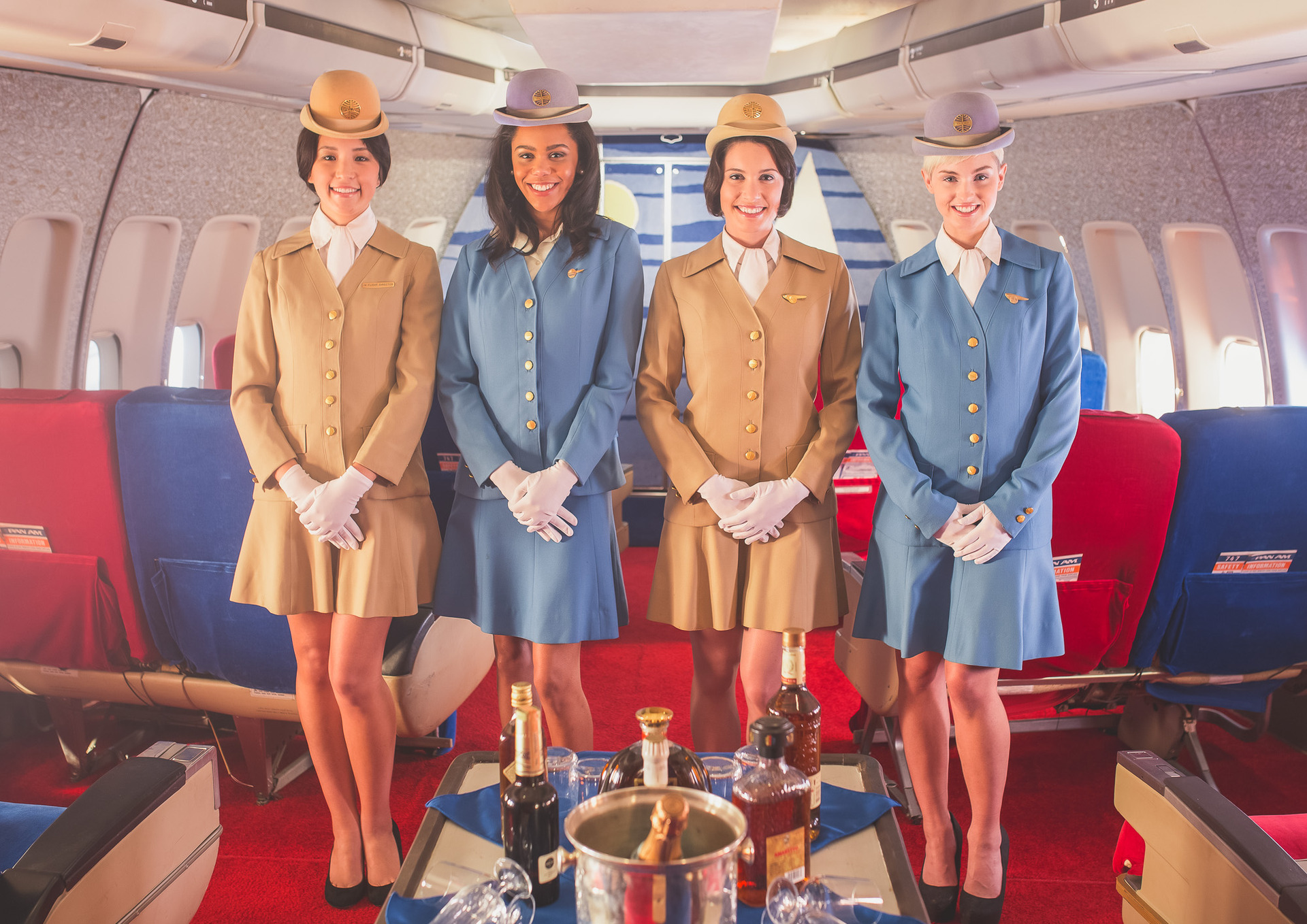 Flight of fancy: Air Hollywood Studio's glamorous Pan Am Experience