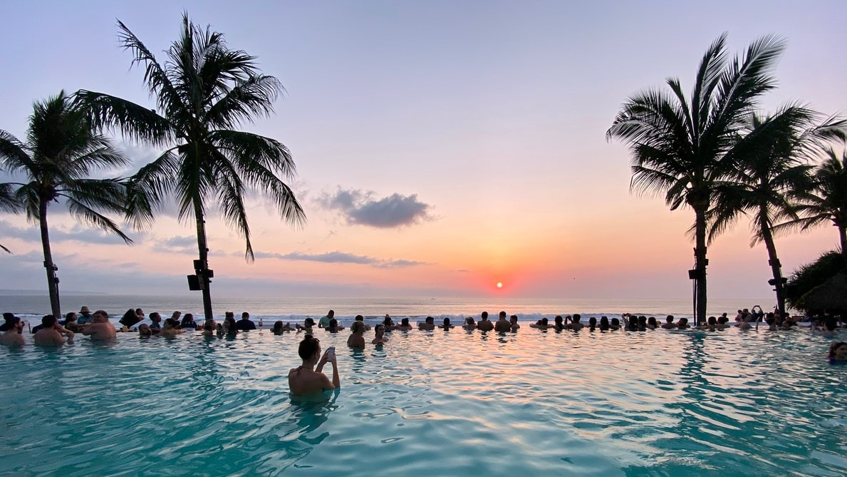 Where influencers drink in Bali