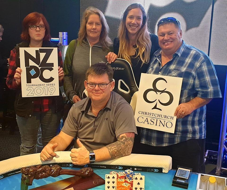 Kiwi poker player Jon Pye wins $107,000 at Christchurch Casino main event