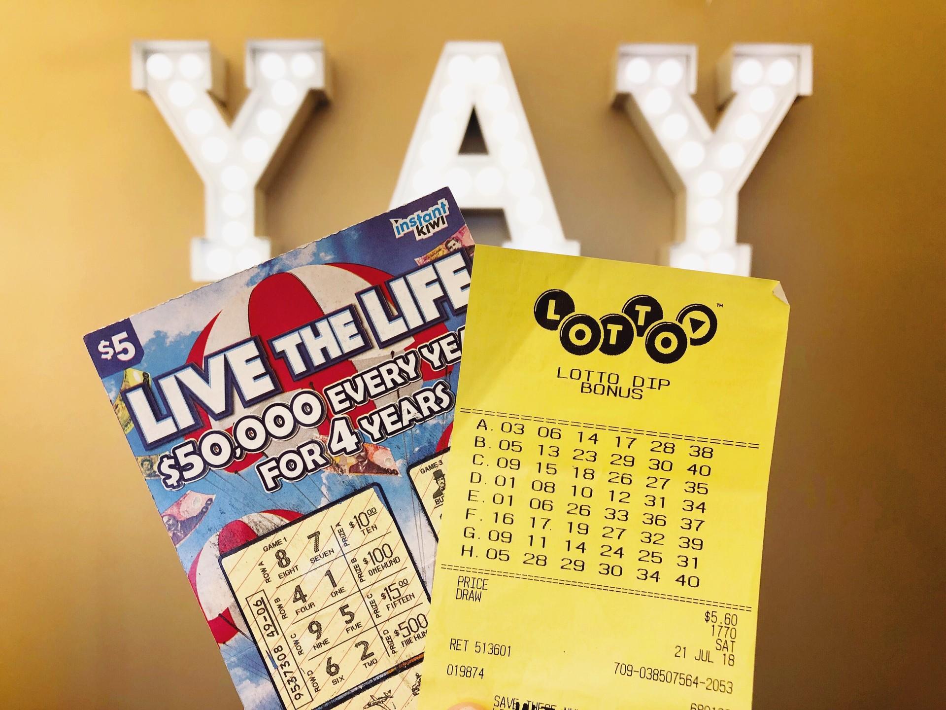 Campsite thrill: Lotto winner's road trip of a lifetime