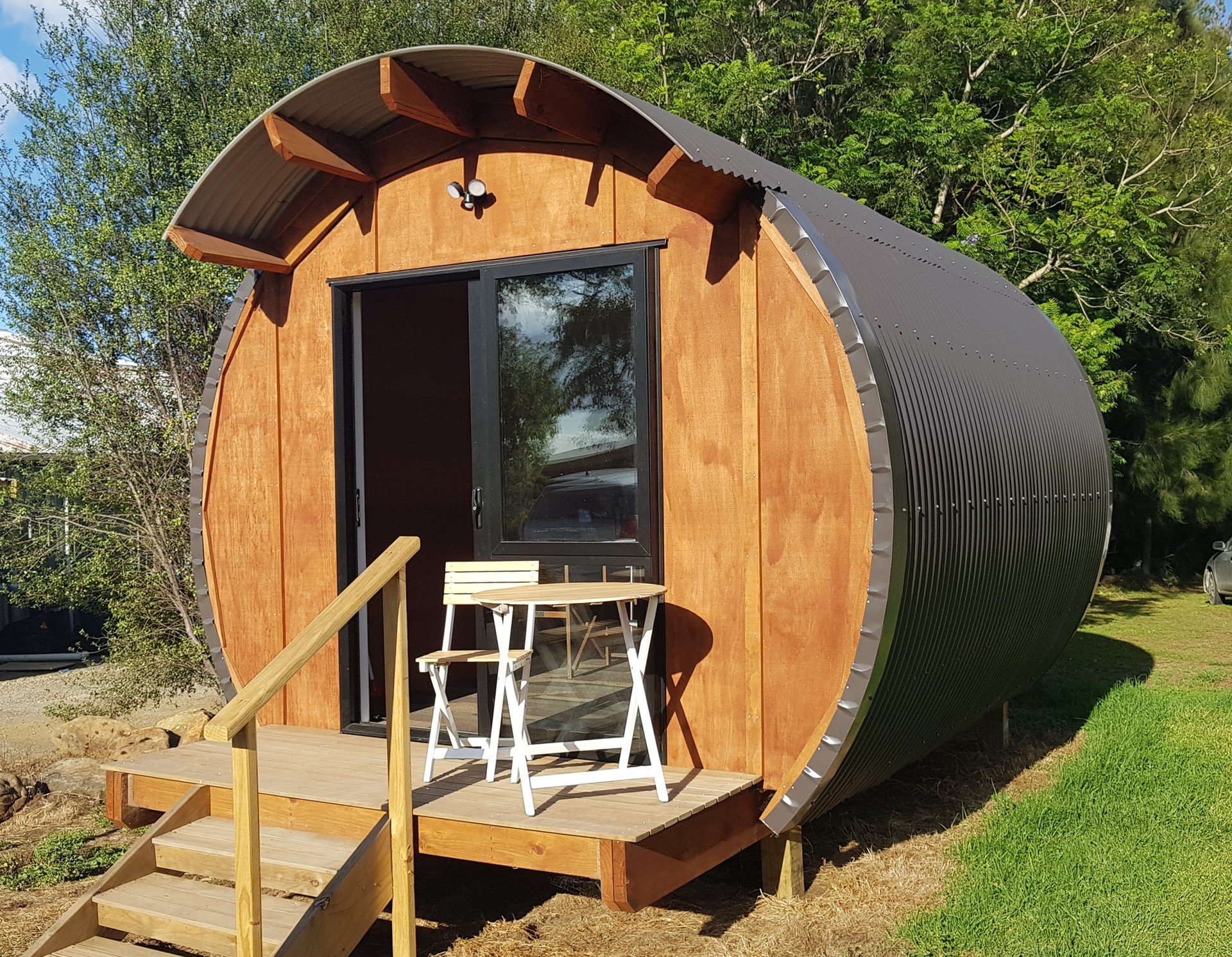 Consent-free cabin challenge spawns new Northland business