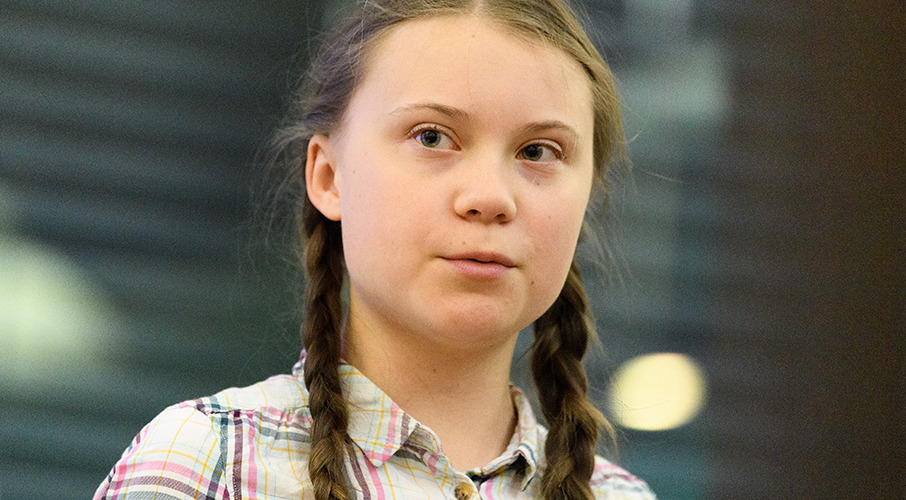 Time traveller? 'Greta Thunberg' spotted in 121-year-old photo