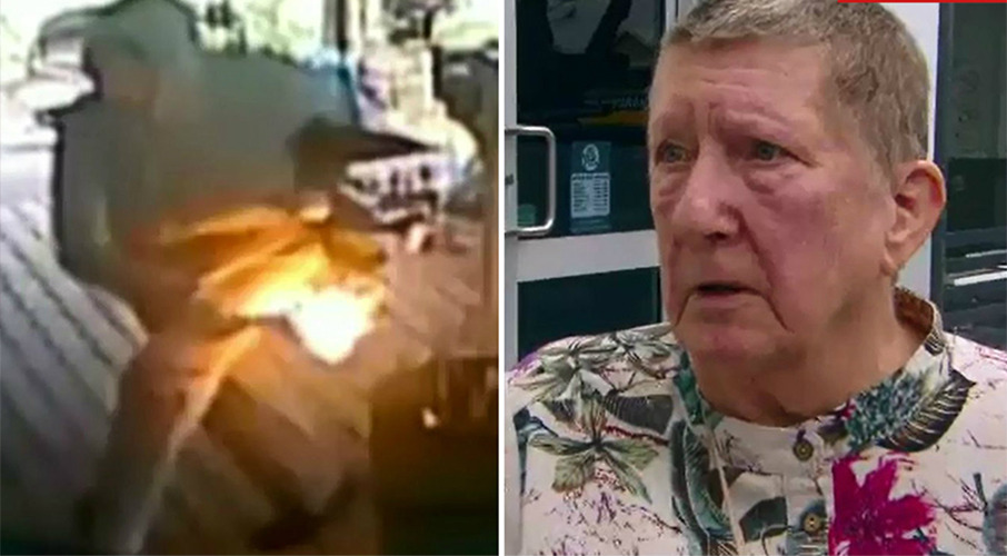 'Aussie's oldest arsonist': Son accuses mum of torching home in family feud