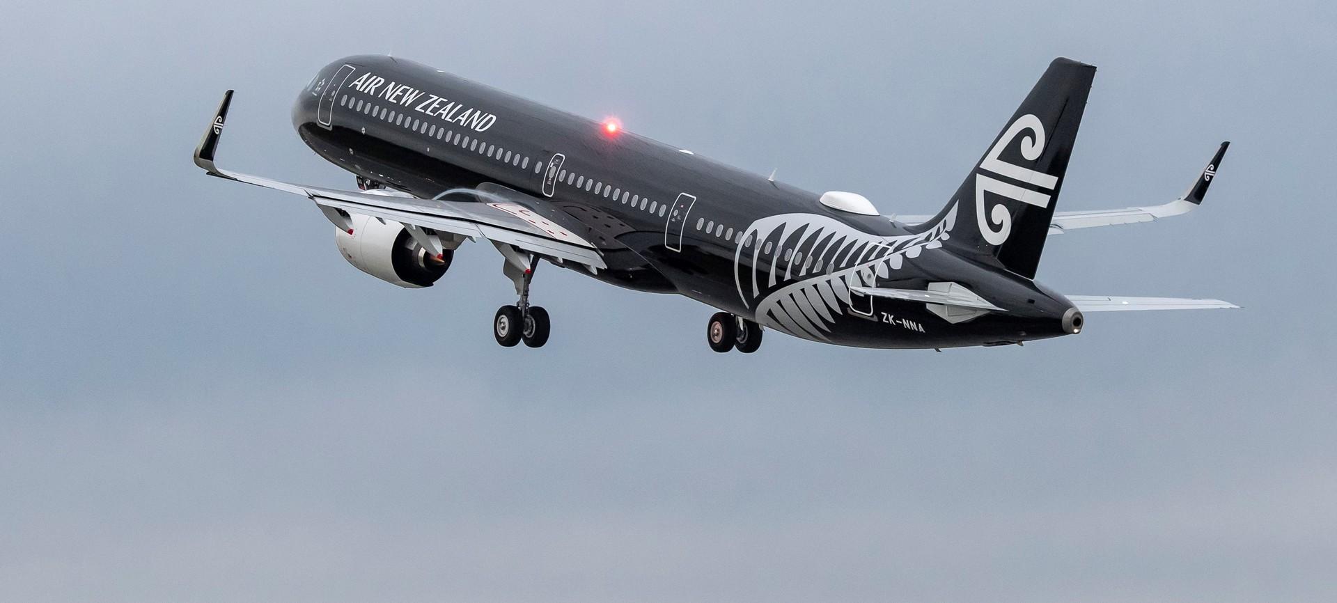 Brand new Air New Zealand Airbus A321neo turns around near Iran border and returns to Hamburg