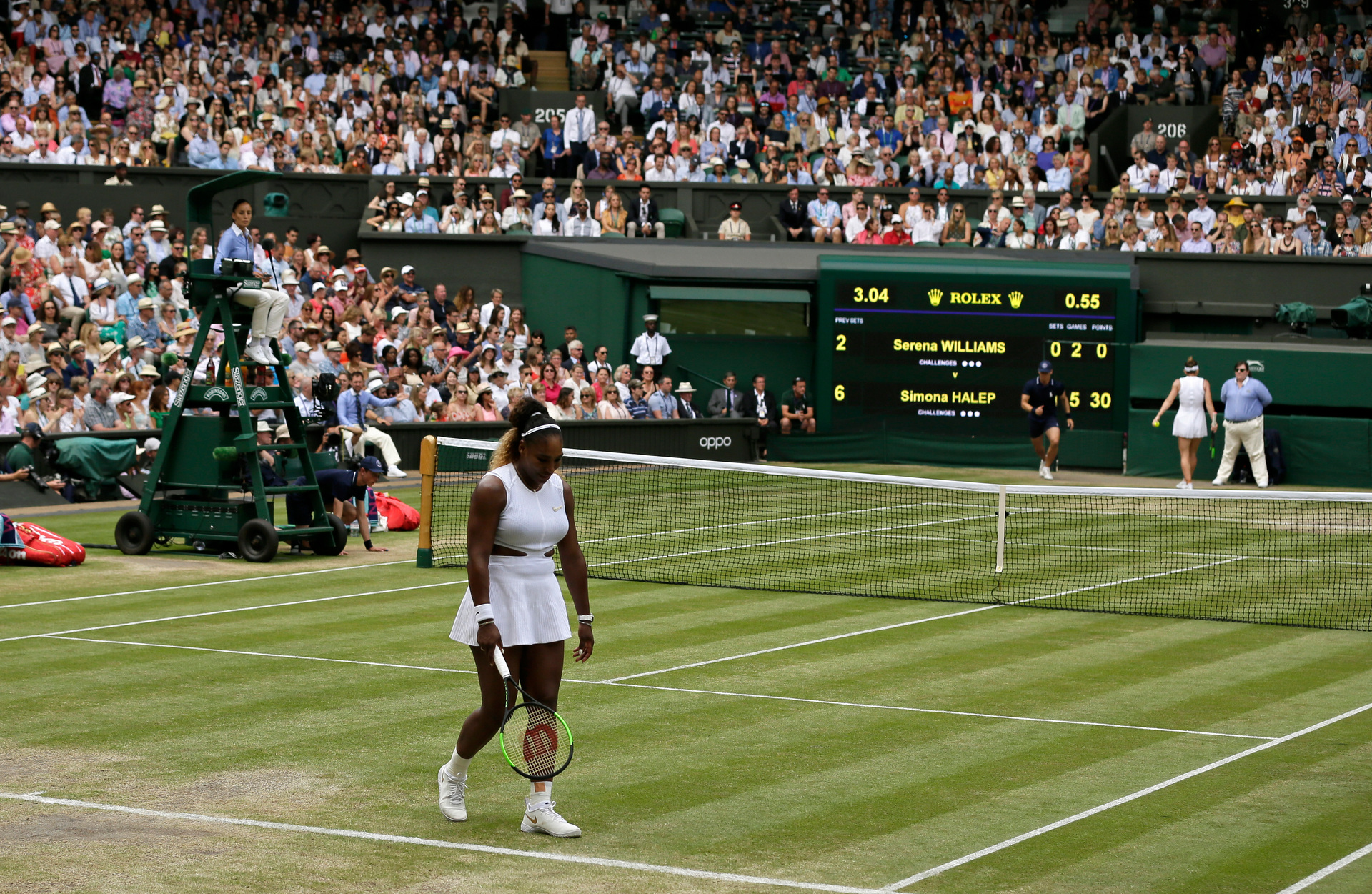 Serena Williams leaves Wimbledon with defiant final statement