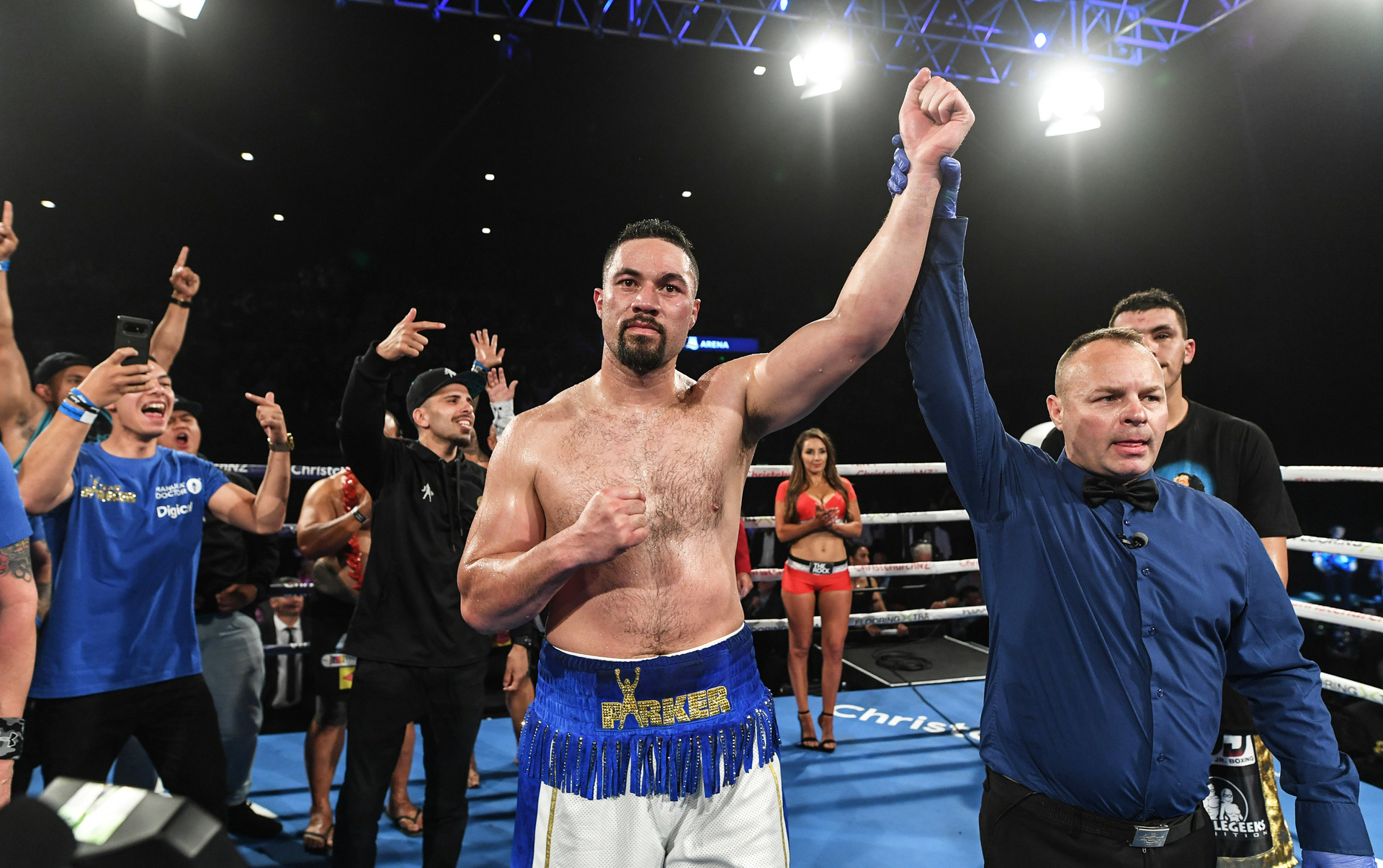 Boxing: 'Dirty' Joseph Parker silences critics by not playing nice in knockout win over Alexander Flores