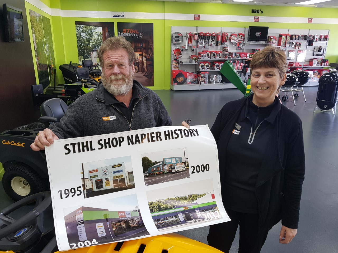 Mower firm with a history changes hands in Napier