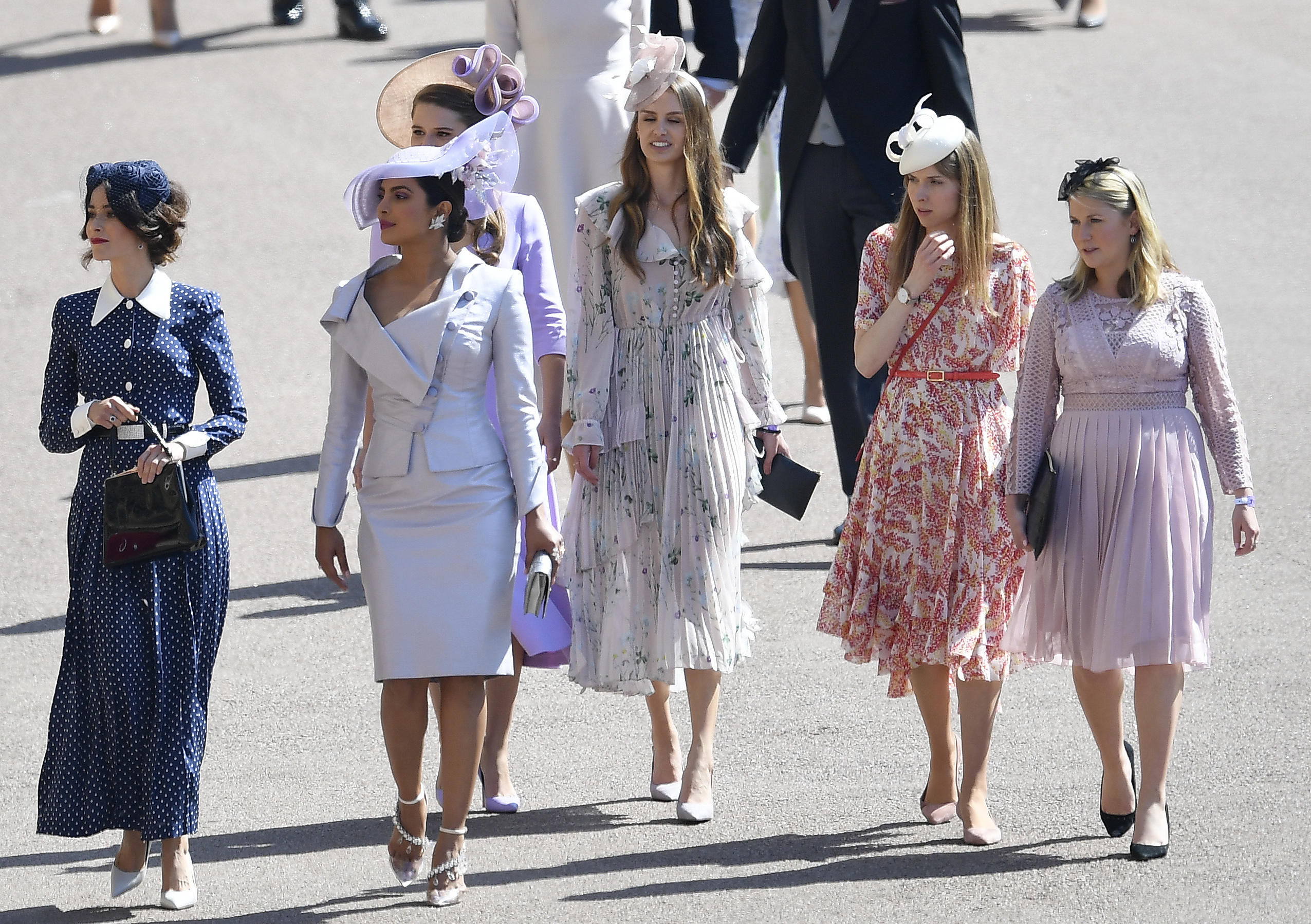17d729abcbf07 Royal Wedding 2018  The most outrageous hats - NZ Herald