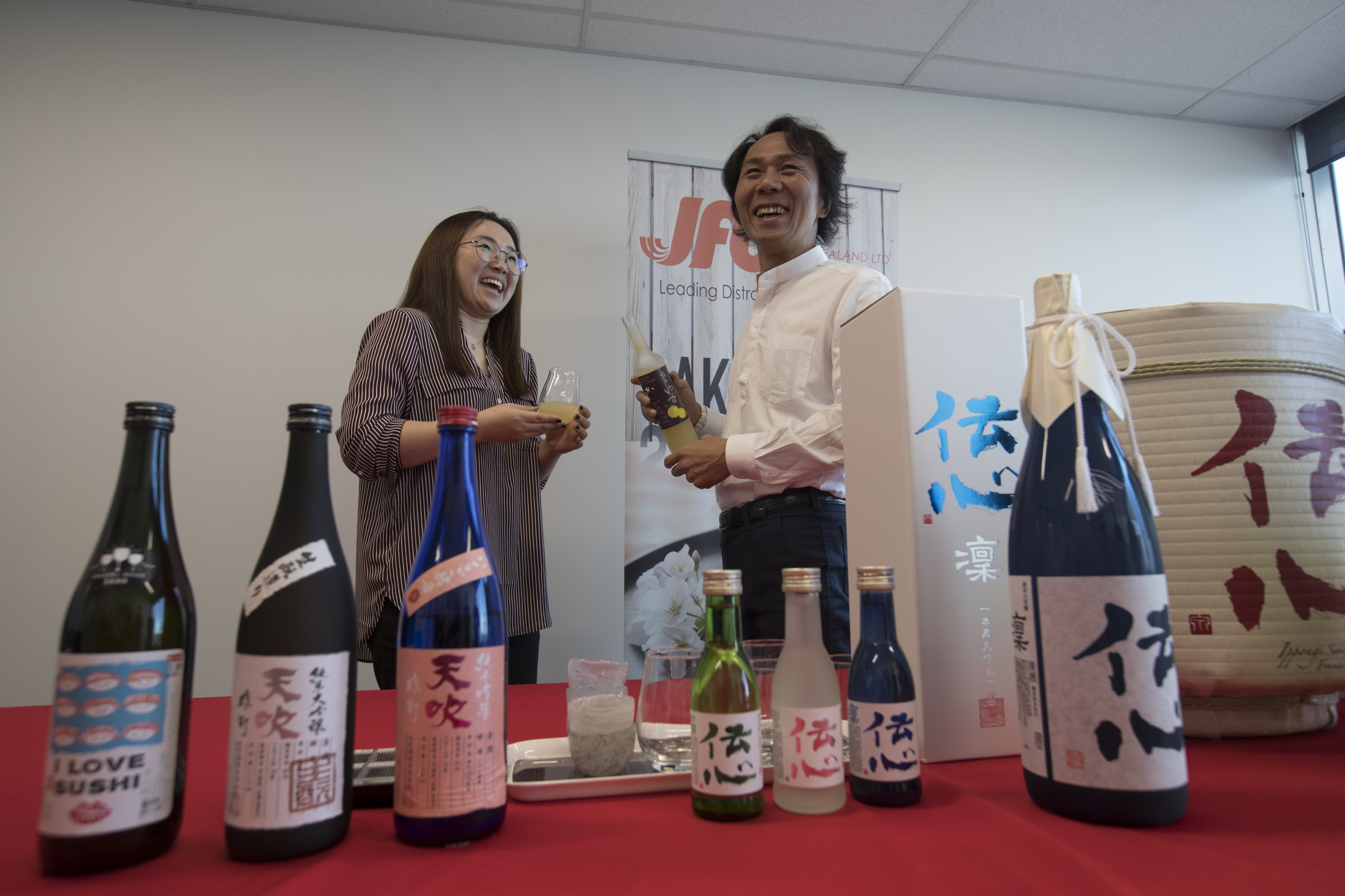 Japanese brewers want to turn NZ into a nation of sake drinkers - NZ