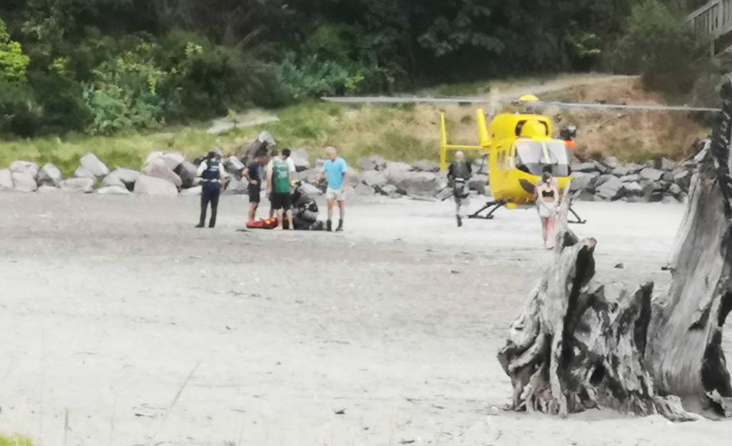 Child rescued after incident near Ōhope Beach