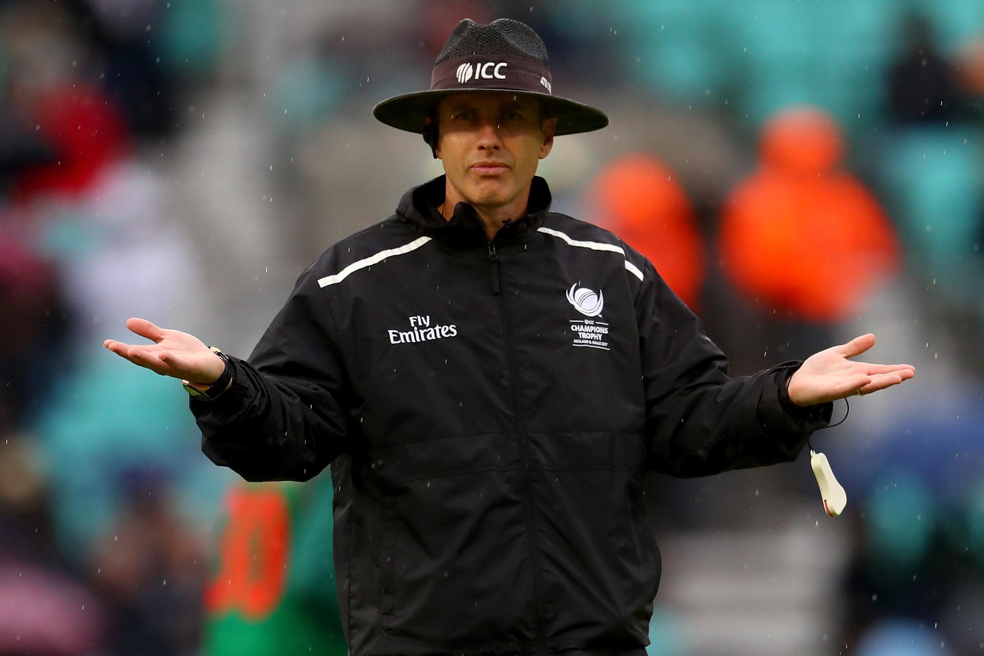 e355a3ea5e681 Cricket World Cup 2019: Is Kiwi umpire Chris Gaffaney's big no-ball ...