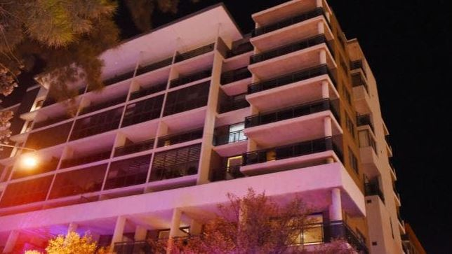 Apartment residents evacuated and engineers called after a 'large crack appeared'