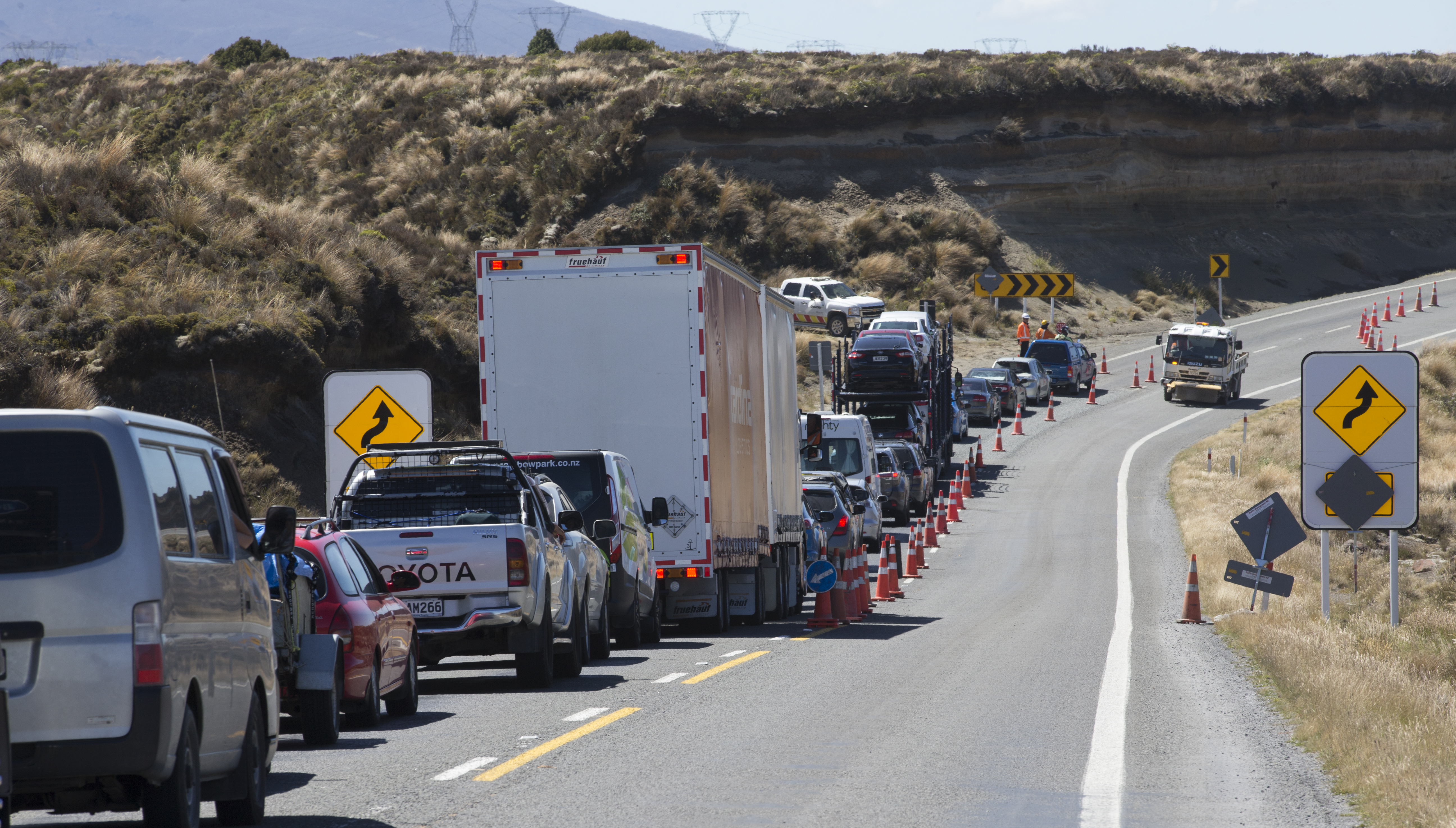 Tips for tourists affected by Desert Road closure in New