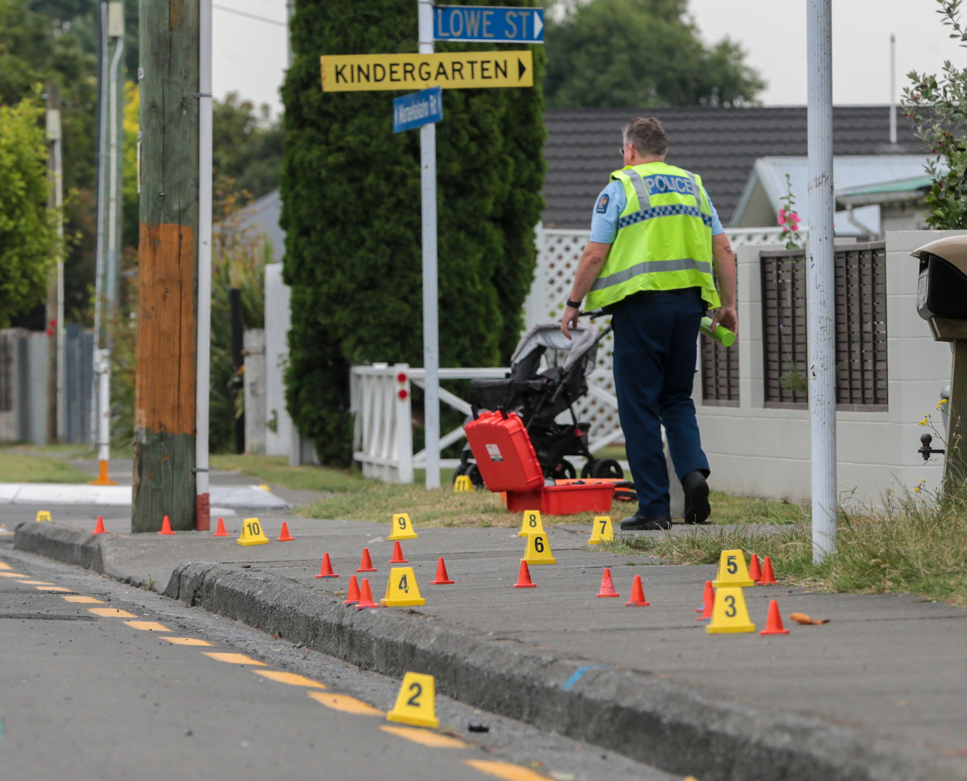 Hastings hit-and-run: Man remains critical after saving toddler's life