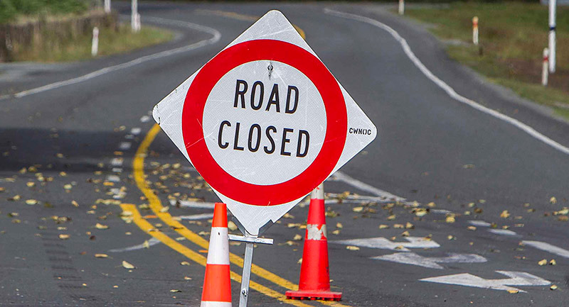 Wild weather: SH 1 from Taupō to Tūrangi closed, Tairua road flooded