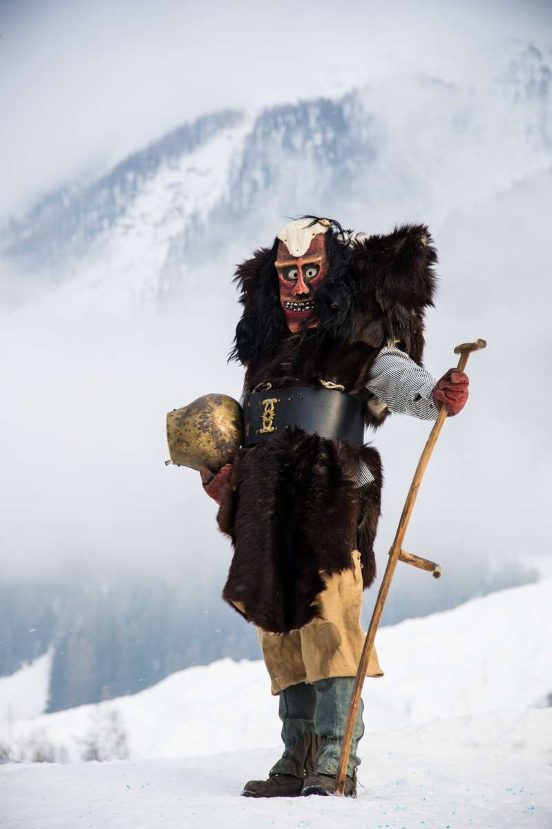 Lötschental: In Switzerland's magic valley of the Tschäggätta monsters