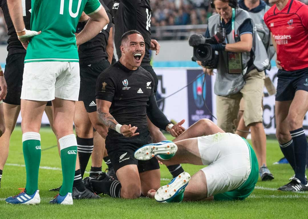 All Blacks near-perfect in first half onslaught