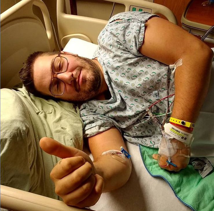 He's known for acts of kindness. Now he's donated a kidney