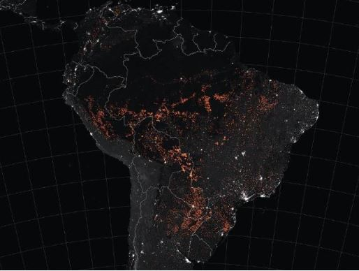 Frightening Amazon photos from space