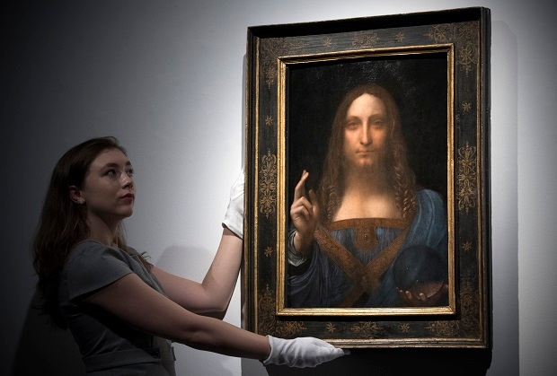 Louvre to reject $450m 'Leonardo' after loss of faith condemns it as fake