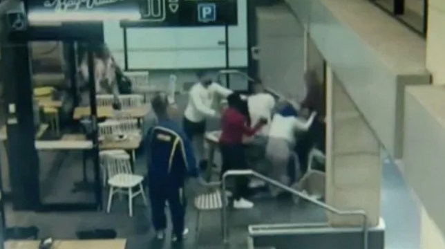 Watch: Sickening attack on pregnant woman