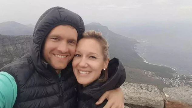 Newlywed plunges to her death while jumping for birthday photo