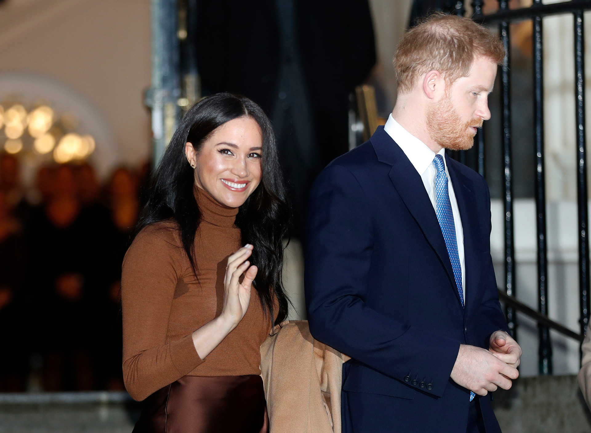 'A taste of things to come': Photos that show irony of Meghan's new life