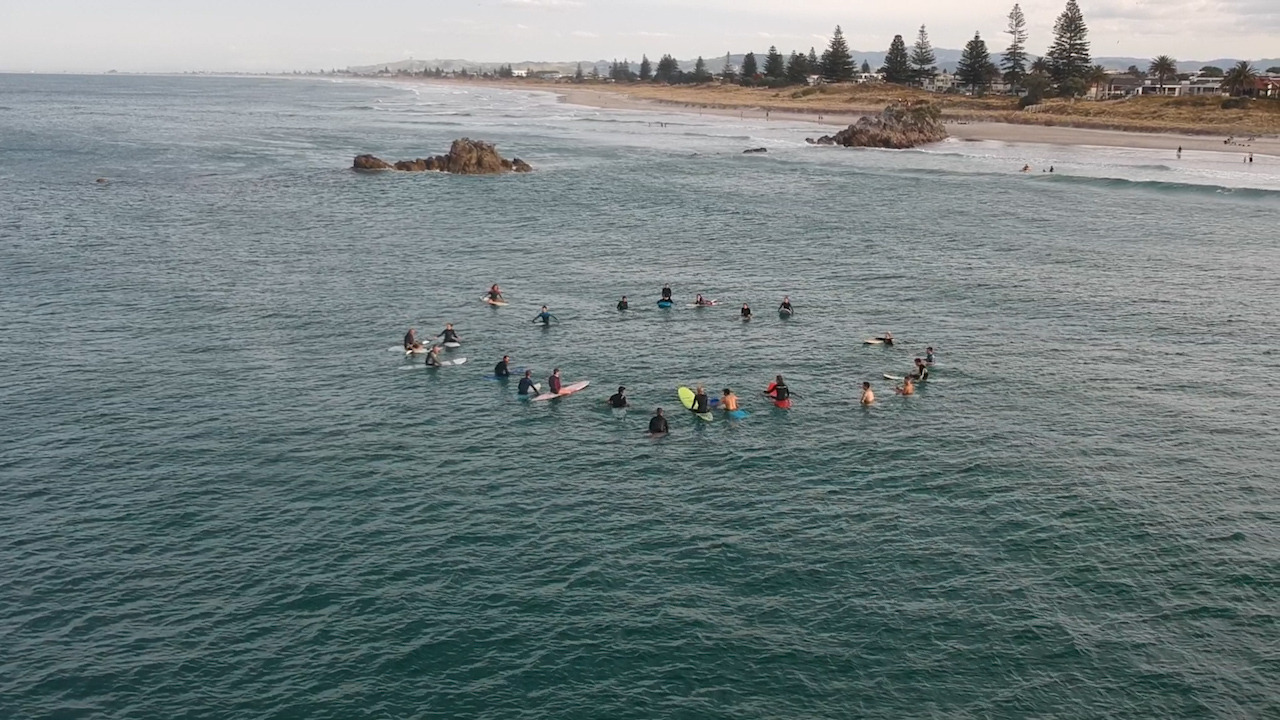 Local Focus: White Island victims remembered in paddle out