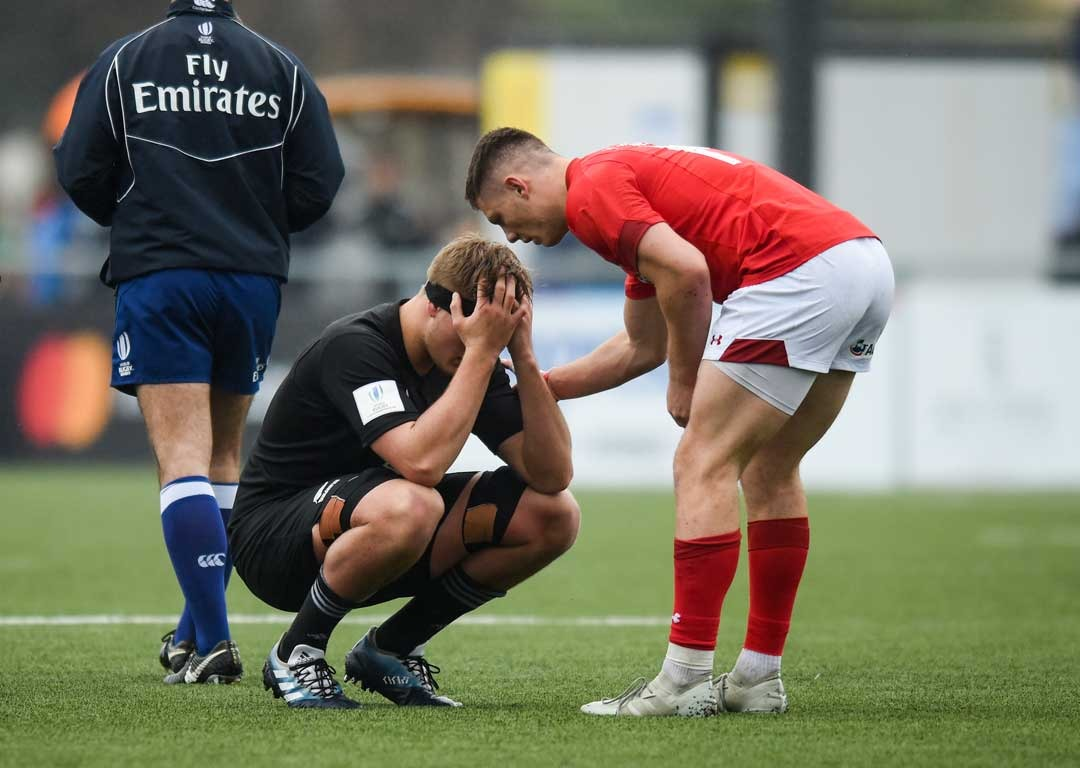Rugby: New Zealand under-20s stunned by Wales