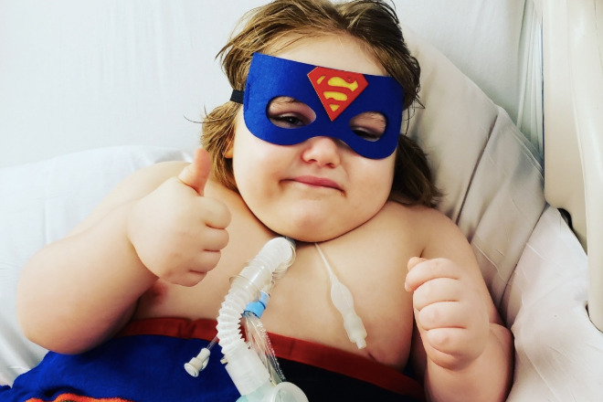 Boy, 4, with cancer bullied by adults because of his weight