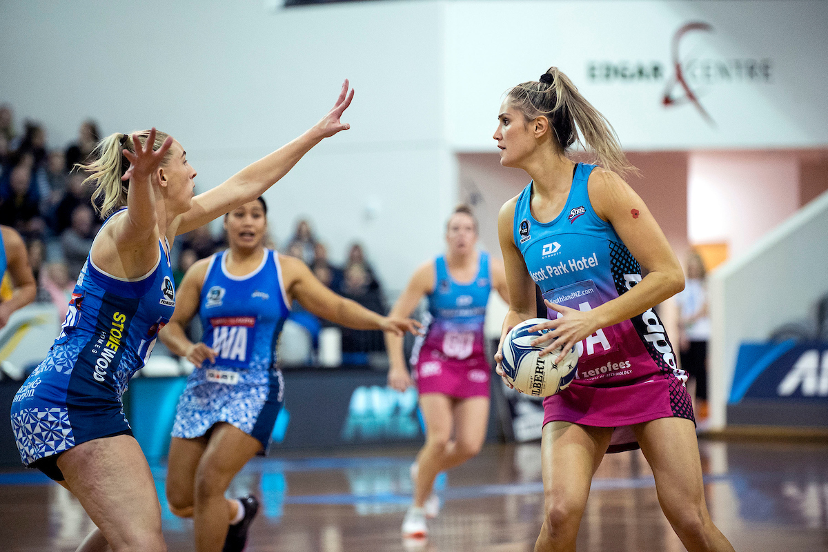 Netball: Last quarter surge gets Southern Steel home against Northern Mystics
