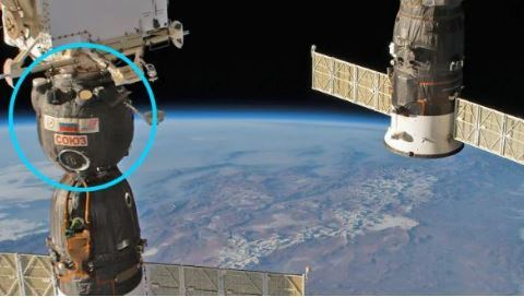 Russia goes silent on mysterious ISS drill hole
