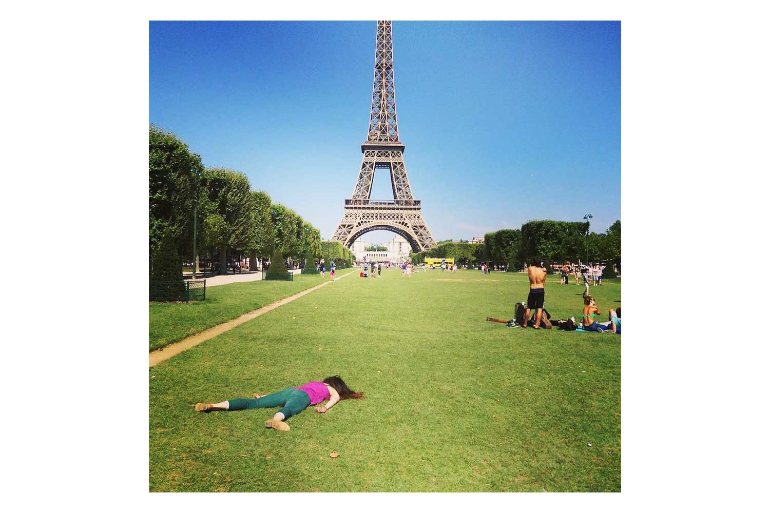 'Anti-selfies' Instagram artist puts new life into cliche travel photos 'done to death'