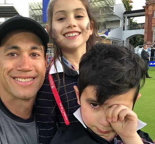 2019 Cricket World Cup: Ross Taylor shares heartfelt photo after Black Caps loss