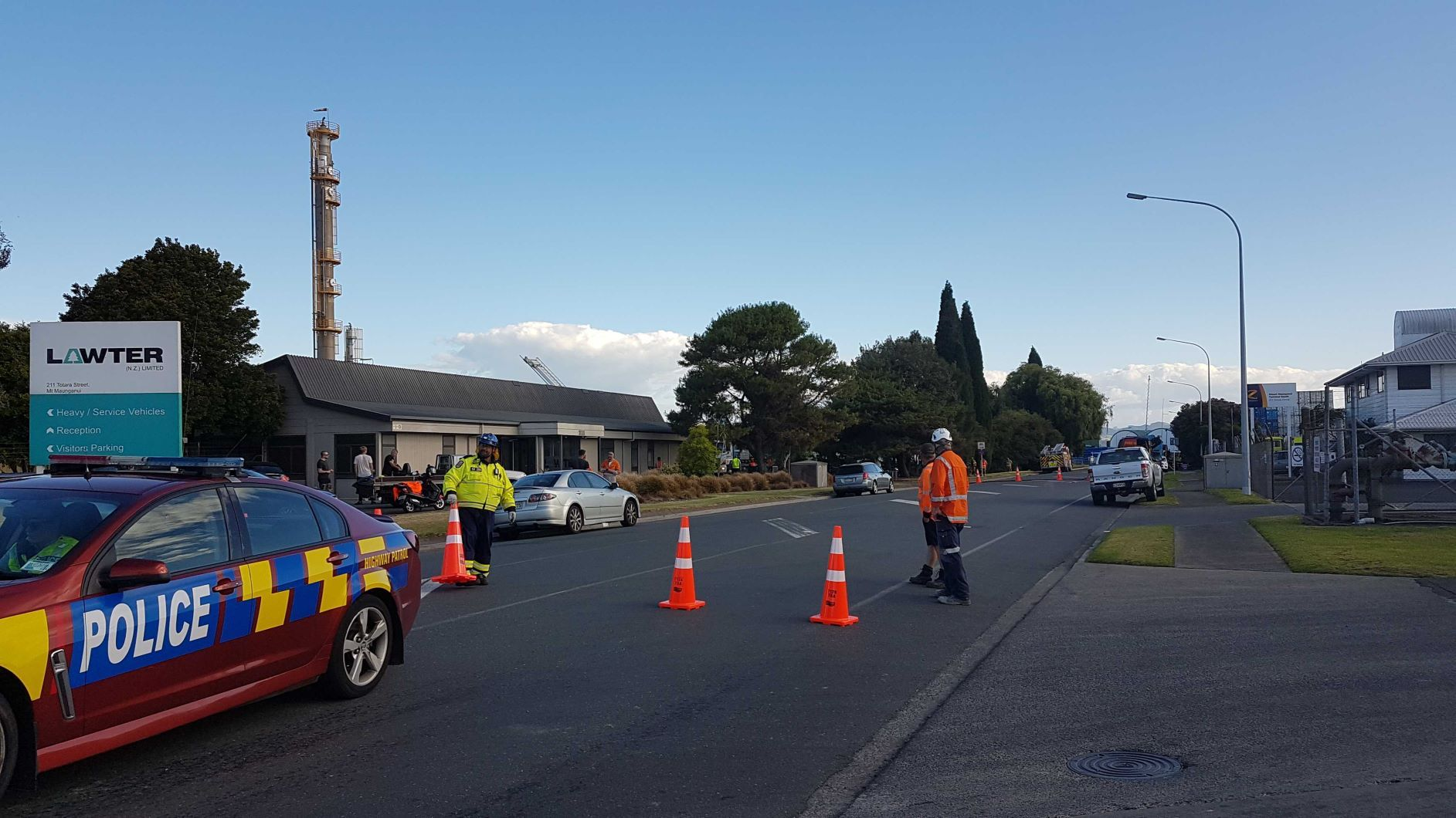 Warning after major chemical spill at Mount Maunganui