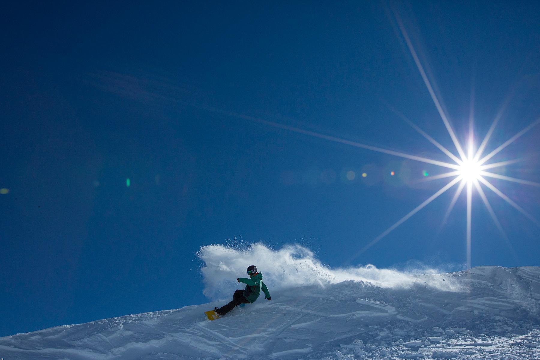 Beginners snowbound for Tūroa's opening weekend despite light fall
