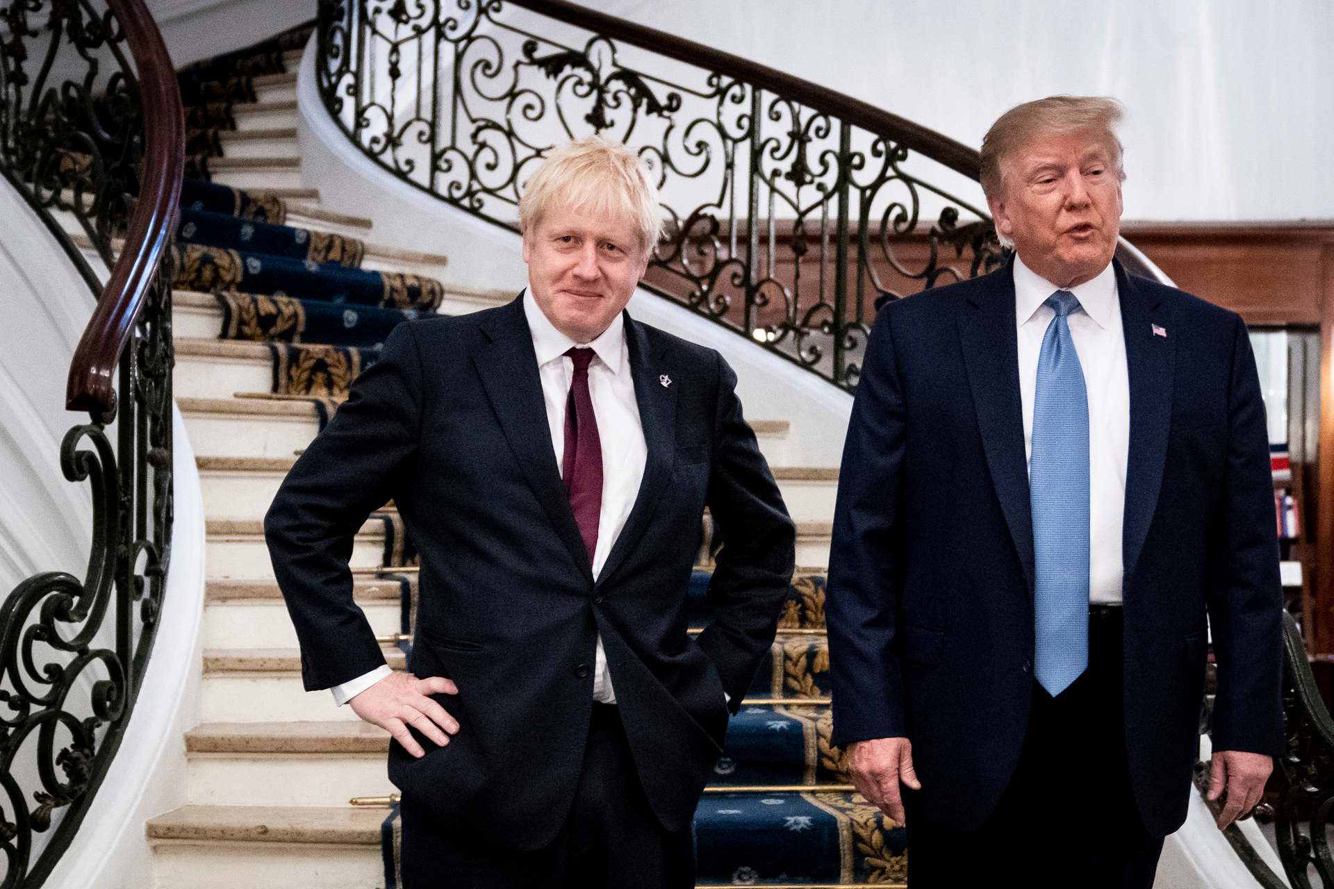 Donald Trump on Boris Johnson at G-7: 'Do you know who this is?'